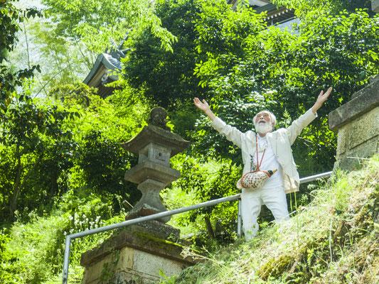 瀬織津姫神社にて