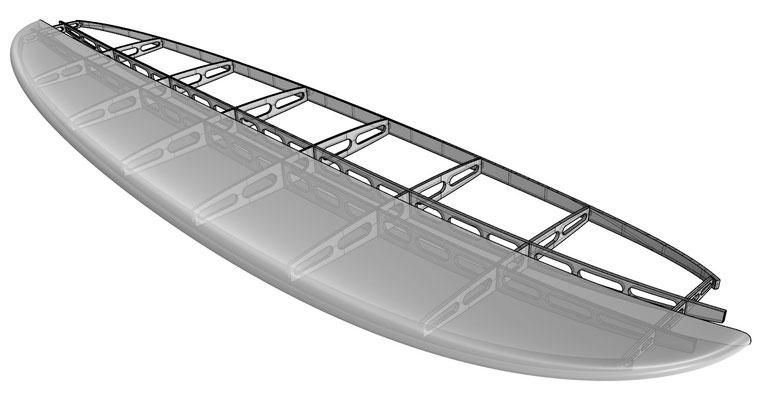 SUP board plywood kit
