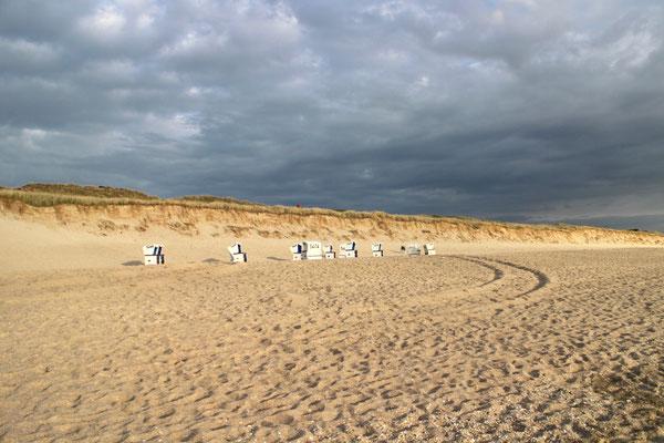 Der weitläufige Rantumer Strand