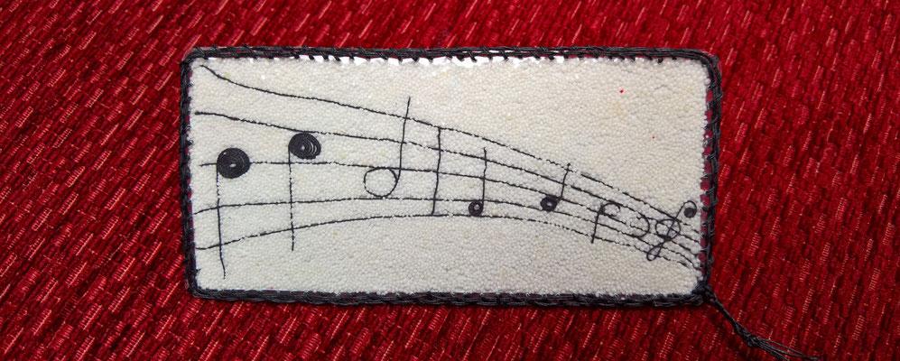 Lesezeichen Kreativ Noten Musik Entspannung