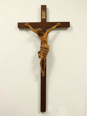 Restauriertes Kruzifix - 30x80cm - Kiefernholz