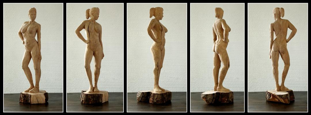 Akt - 15x20x50cm - Birne