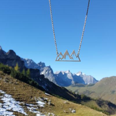 Bergkette für den Hals
