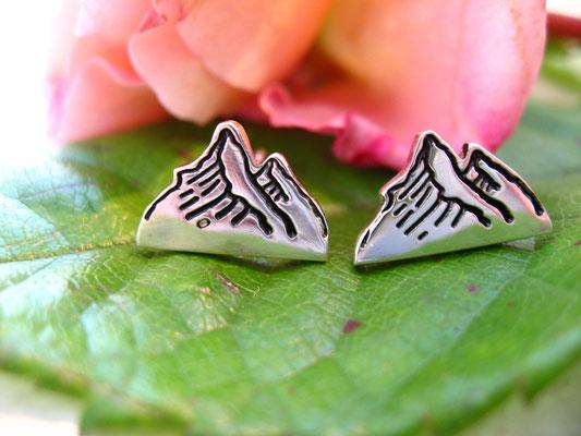 Ohrringe mit Bergmotiv
