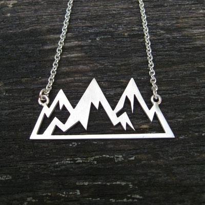 Halskette Berge