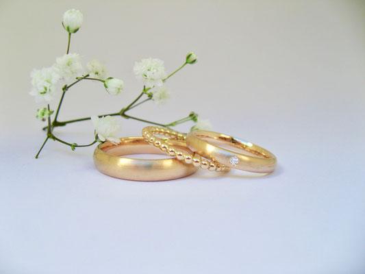 Trauringe aus recyceltem Gold