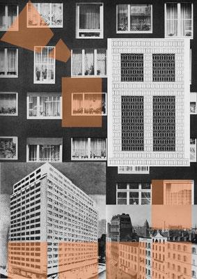 window-links, Print, 42 x 59,4 cm, Auflage: 30, rückseitig nummeriert und signiert