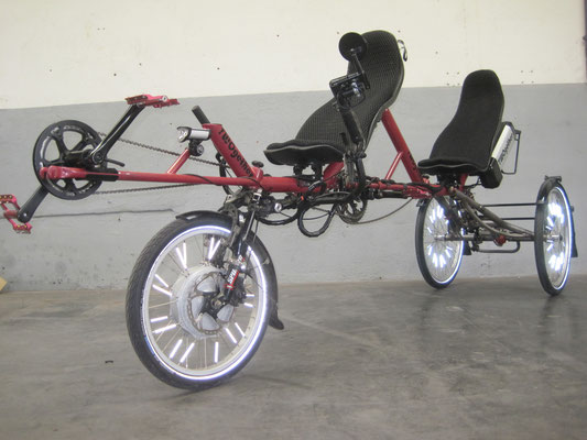 TWOgether Tandem Trike (im Bau)
