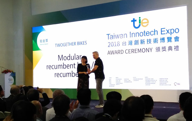 Platinum AWARD Ceremony - TWOgether Bikes