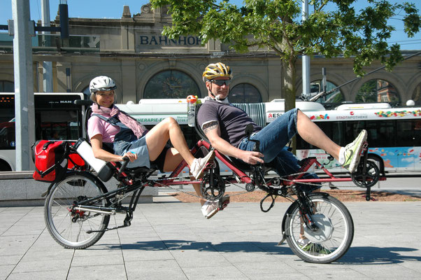 Recumbent Tandem TWOgether