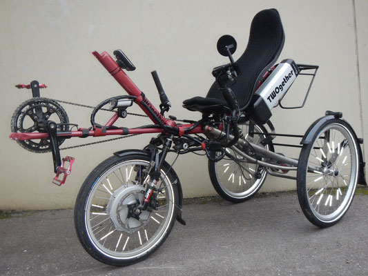 TWOgether Single Trike im Bau