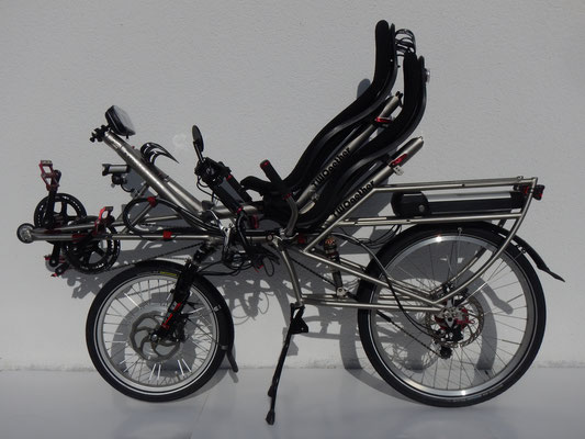 TWOgether Tandem- prepared for transportation