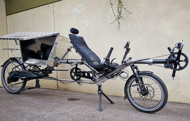 Cargobike TWOgether Co._geöffnete Box