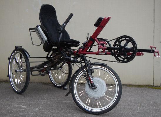 TWOgether Single Trike im Bau