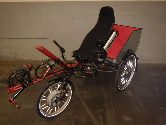 TWOgether Trike (mit Lastenbox)