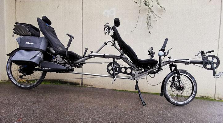Tandem Gepäck-Variante B&W B3 Trolleys