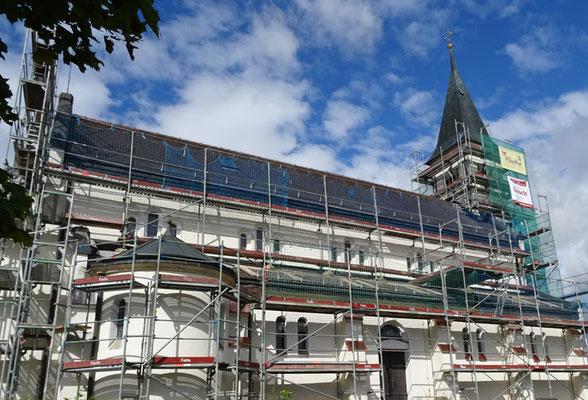 St. Katharina in Lippach Fassadensanierung