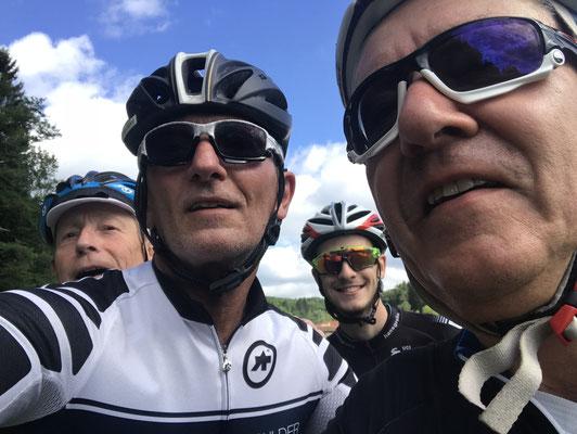100km-Training kurz virun Schiffweiler