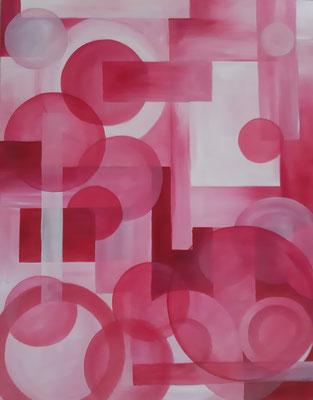 Rose / 60 x 72 cm / Huile / Prix 500 euros