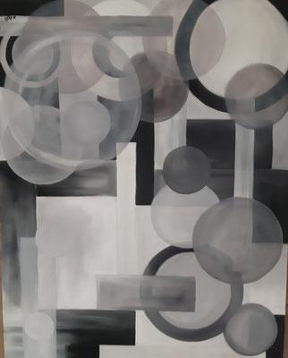 Gris / 60 x 72 cm / huile / Prix : 500 euros