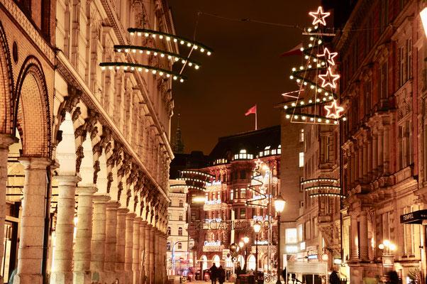 Weihnachtsbeleuchtung Colonnaden (c) C. Kramer