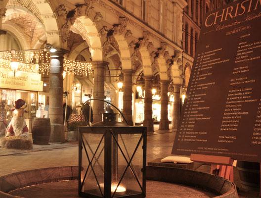 Weihnachtsstimmung in den Colonnaden (c) C. Kramer