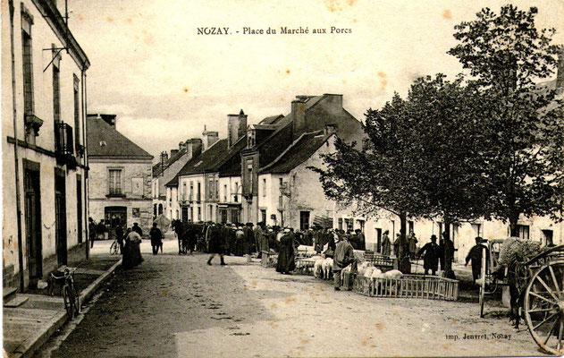 Place du marché aux porcs_Nozay