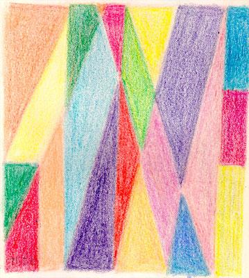 Entwurf Konstruktivismus Farbe 1962