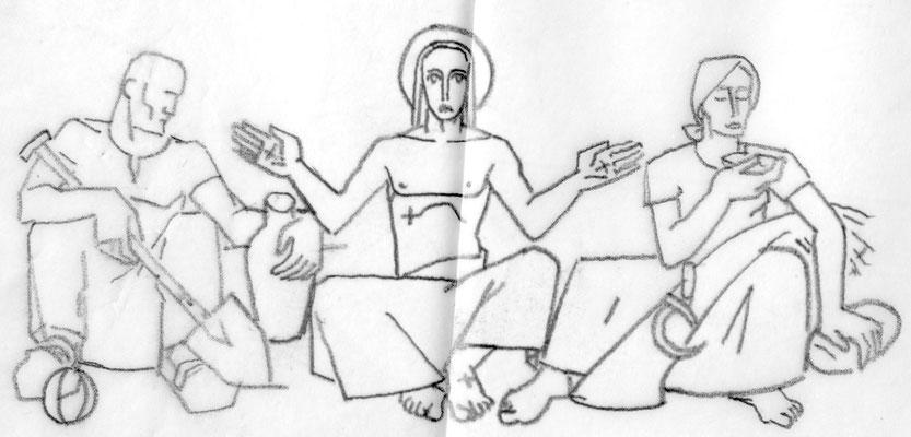 Entwurf Altarbild 1948