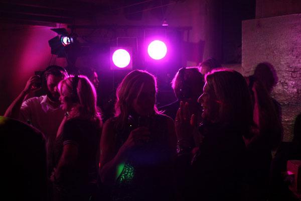 Silent Disco 12,5 jarig huwelijksfeest, Galerie De Rookerij