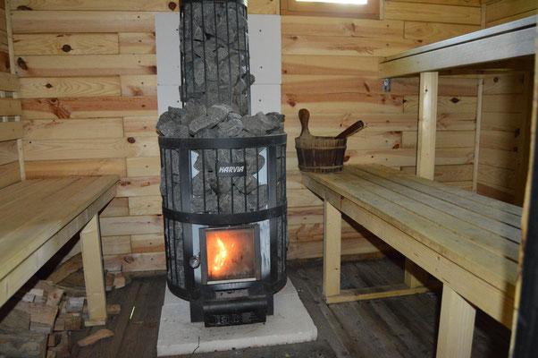 sauna chambres d 39 h tes l 39 escal re. Black Bedroom Furniture Sets. Home Design Ideas
