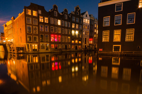 voorburgwal im red light district