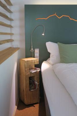 Mit viel Liebe und einem Auge für Details eingerichtete Ferienwohnung in Bad Honnef.
