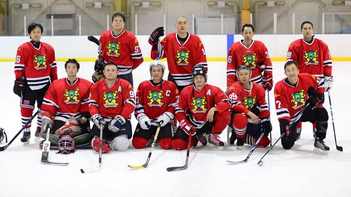 試合終了後のメンバー