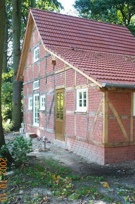 Altbausanierung Fachwerkhaus Zimmerei Thiermann