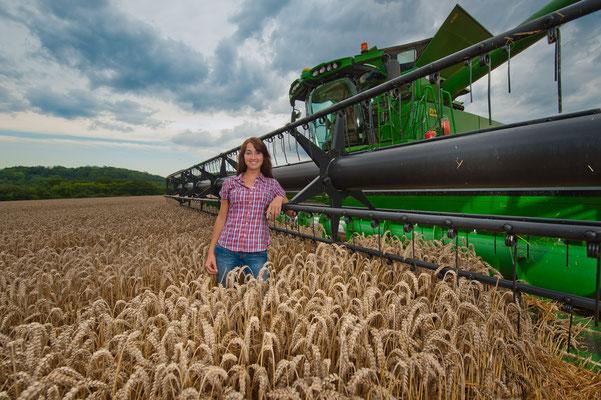 Landwirtschaft und Erntemaschinen