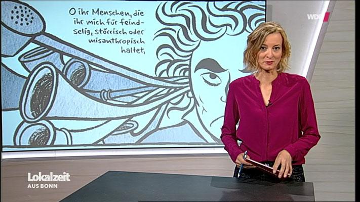 """Moritz Stetter """"Mythos Beethoven"""" Graphic Novel, WDR Beitrag"""