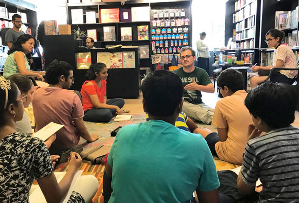 New Delhi, CMYK Bookstore, Comicworkshop
