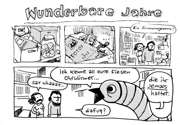Urban Sketching Tage Görlitz 2017, Jamcomic mit Aike Arndt, Nicola Maier-Reimer und Alex von Knorre