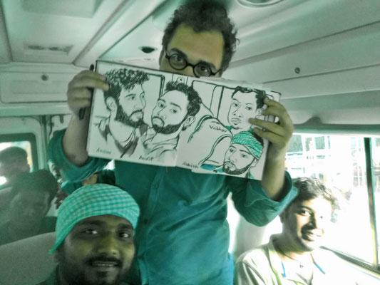 Sketchbook New Delhi : Himachal Pradesh