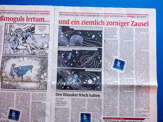 """Moritz Stetter """"Mythos Beethoven"""" Graphic Novel"""