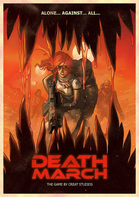 Афиша к презентации игры Death March, 2007