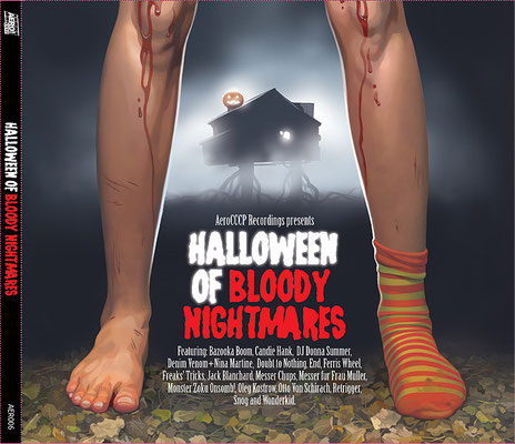 "Обложка CD ""Halloween of Bloody Nightmares"", 2008"