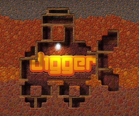 "Логотип игры ""Digger"", 2009"