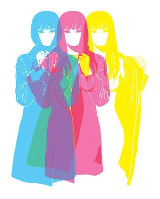 """""""Стерео-стрип"""" (имидж для сети модных магазинов Москвы), 2009"""
