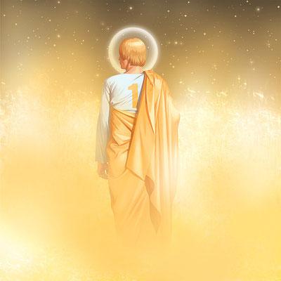 """Фрагмент комикса """"Святые Пионеры Сатурна"""" (""""Goldieboy""""), 2004"""