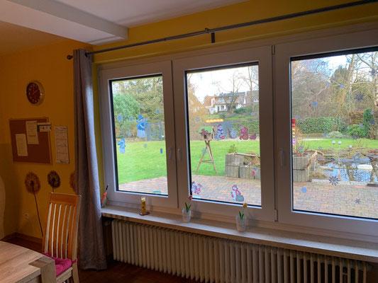 Blick aus dem Fenster Gemeinschaftsraum Am Bullerberg 11a