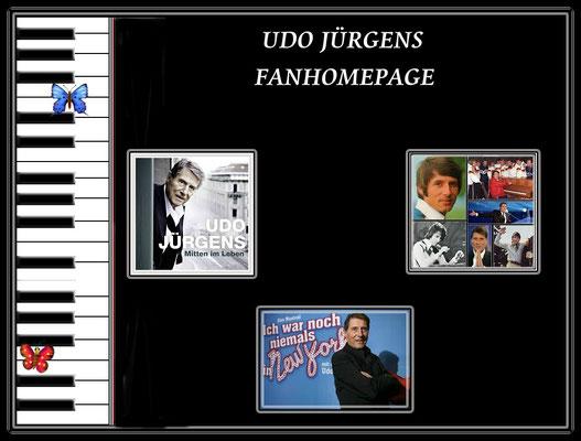 Intro meiner alten Seite über Udo Jürgens