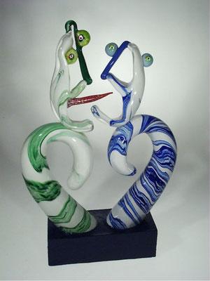 Jean-Pierre Seurat, Studioglas, Glaskunst, Kunsthandwerk