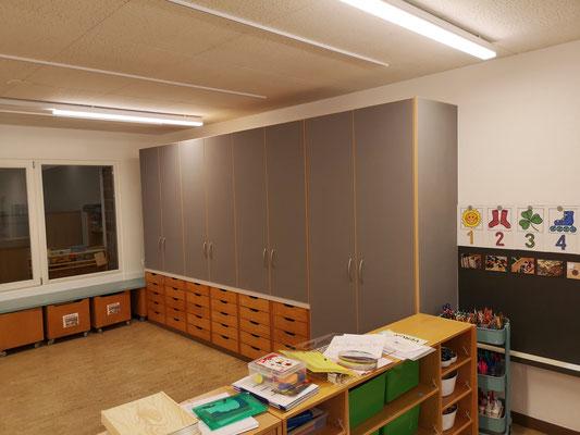 Kindergarten Schrankwand